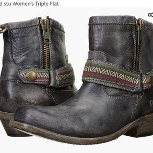 Bed Stu/ Cobbler Series Ankle Boots